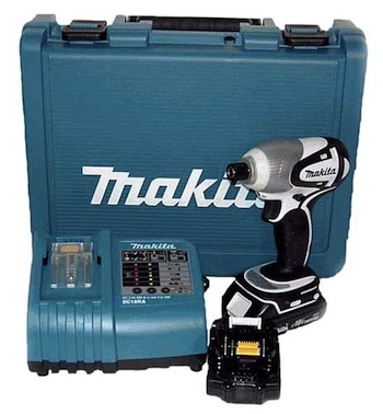 Makita BTD141 18v Lithium-Ion Cordless Impact Driver Kit