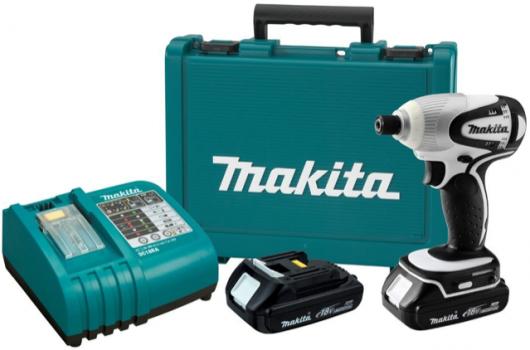 Makita BTD142HW 18-Volt Compact Lithium-Ion Cordless Impact Driver Kit